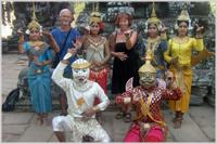 Dancers at Angkor Wat Temples, Cambodia